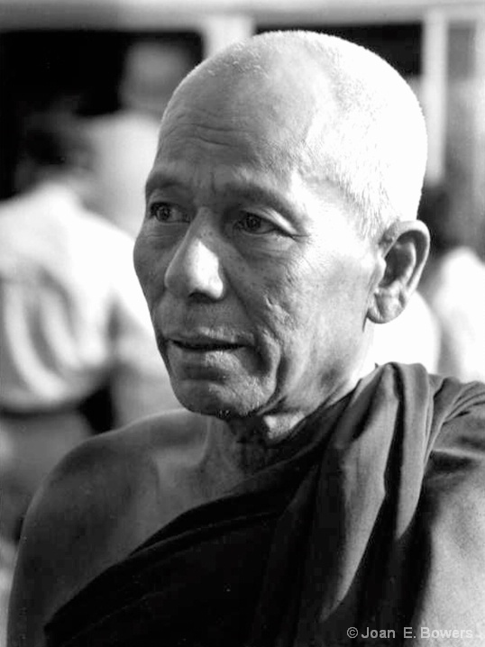 Monk, near Mingun Bell - ID: 6595426 © Joan E. Bowers