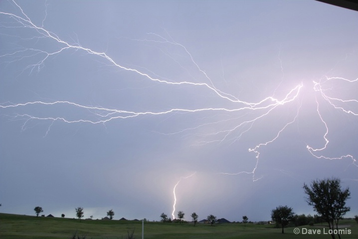 Lightning Over The Ranch - ID: 6605838 © Dave Loomis