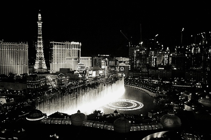 Las Vegas in Black and White . . .