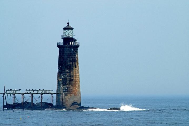 Ram Island Ledge Lighthouse - ID: 6622509 © Carla Daigle