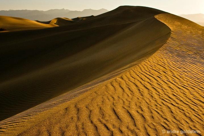Mesquite Sand Dunes, sunrise