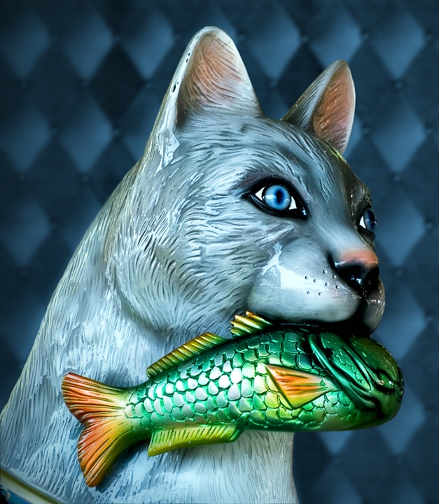 Kitty Caught a Fish