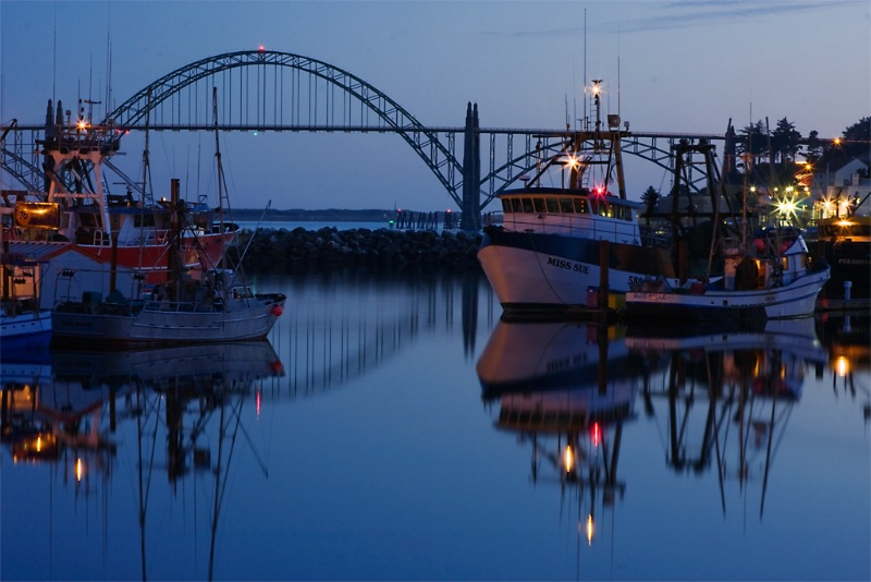 Harbor, Newport Oregon