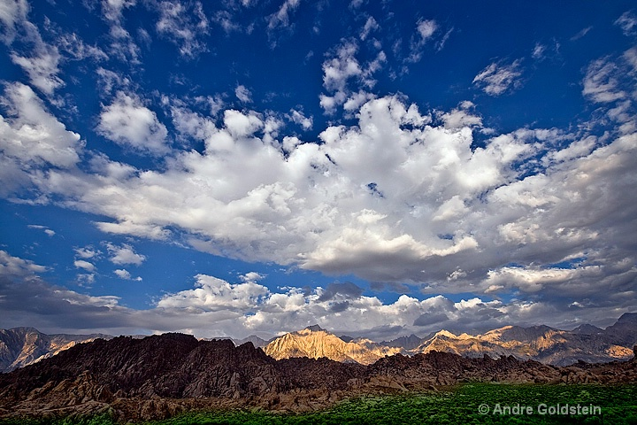 Sunrise over Sierra Nevada