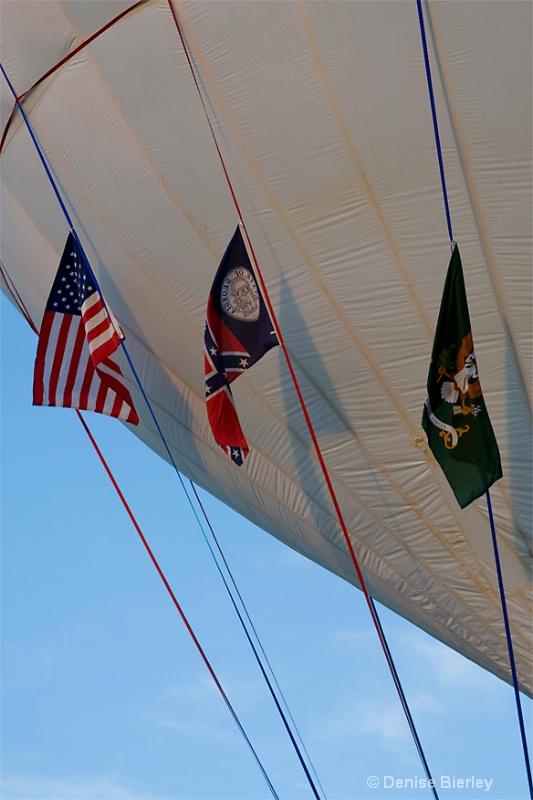 Gas Balloon Flags - ID: 6750526 © Denise Bierley