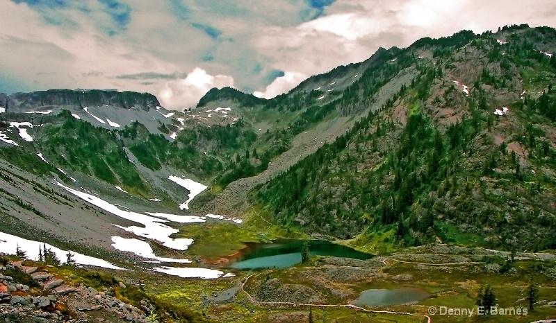 Chain Lake, Mt Baker-Washington - ID: 6752175 © Denny E. Barnes