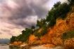 Red cliffs of Kal...