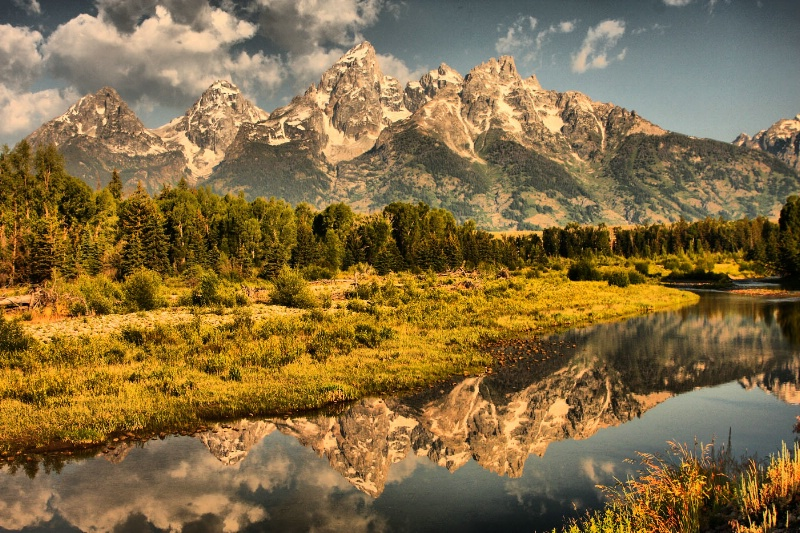 Teton Reflection - ID: 6766154 © Leslie McLain