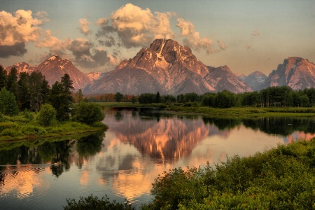 Peaceful Teton Morning