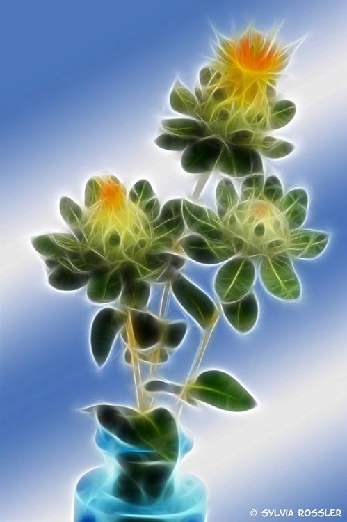 strange floral