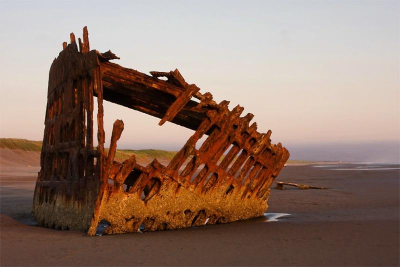 Peter Iredale Shipwreck, Oregon Coast
