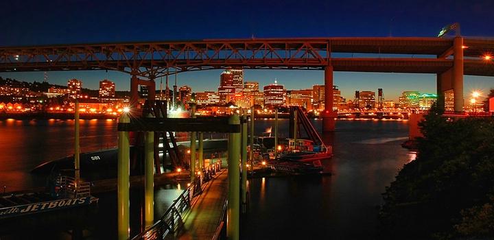 portland-at-night
