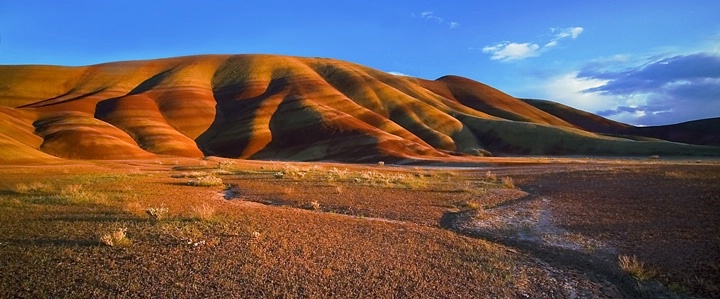 painted hills -late pm