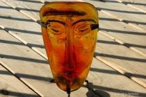 glass mask cwb white paper daylight