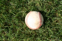 CWB White paper. The baseball and grass are richer