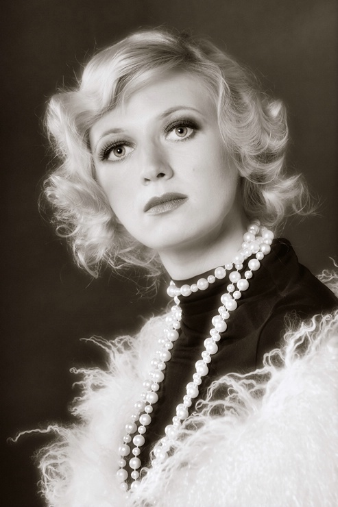 Classical female portrait 3