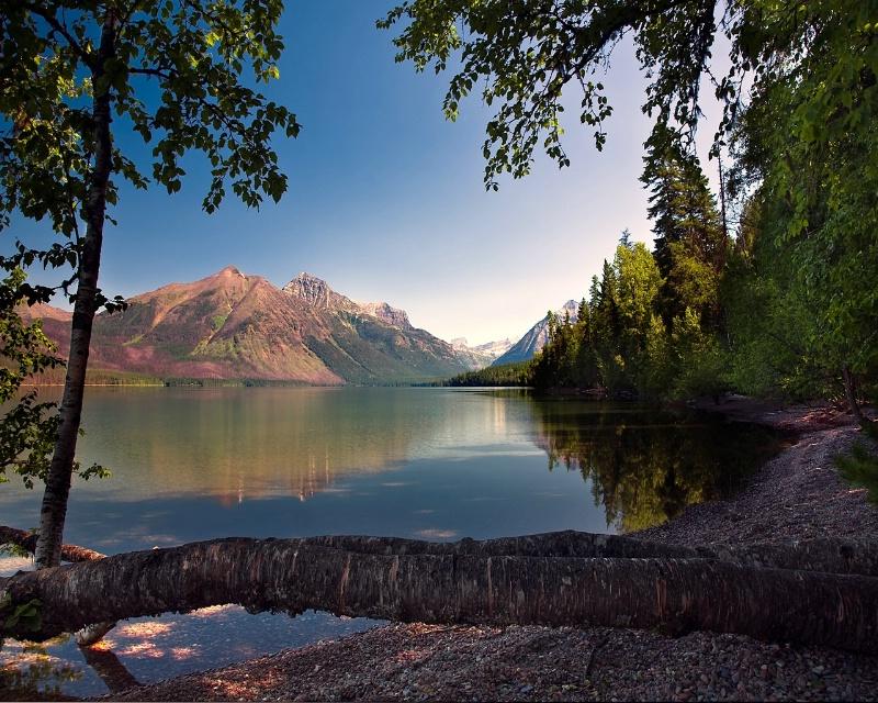 Lake McDonald AM reflection