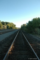 focus towards end of tracks