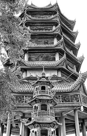 Pagodas At Fengdu