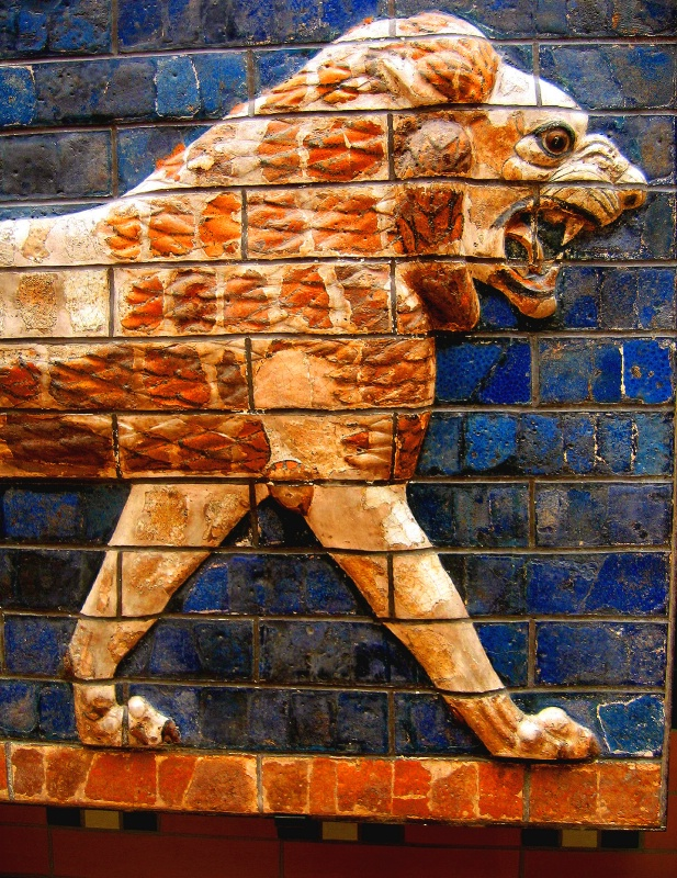 Lion In Relief