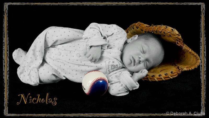 Daddy's boy Nicholas