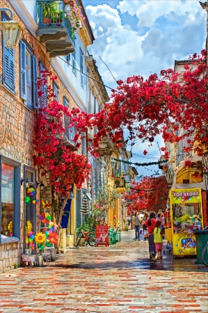 Streets of Greece