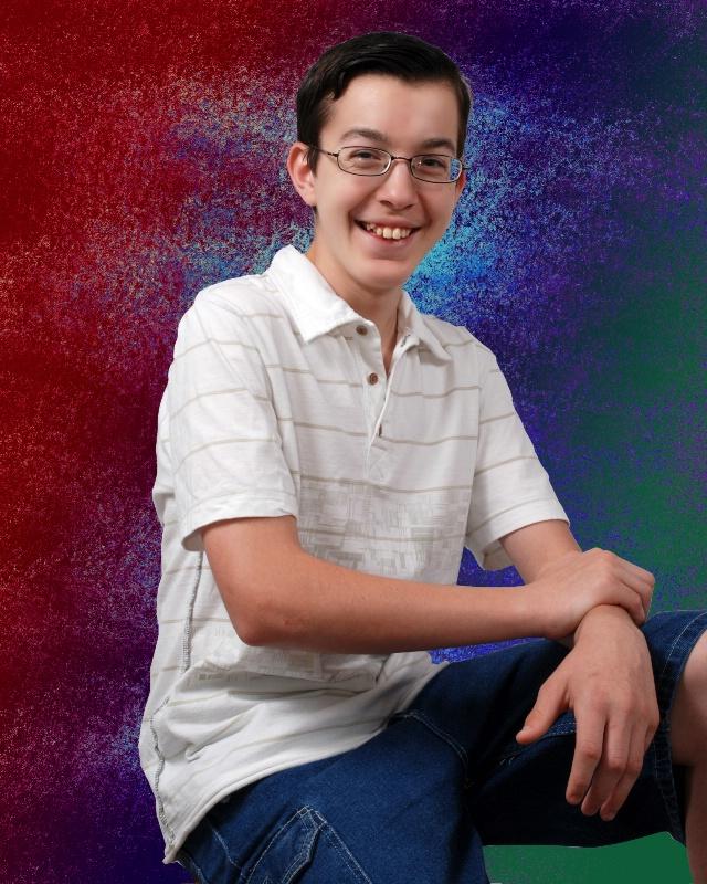 Portrait on Photoshop Deisgned Background