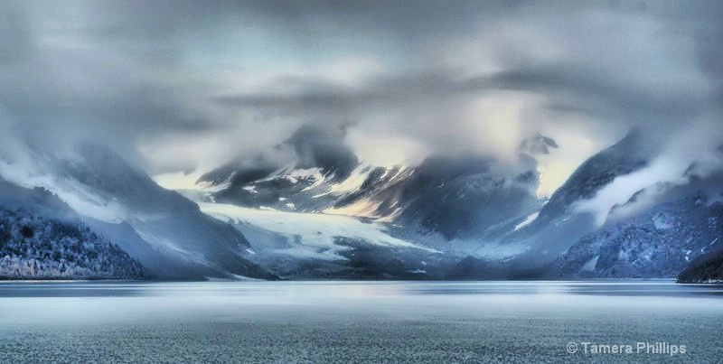 Heading into Glacier Bay, Alaska