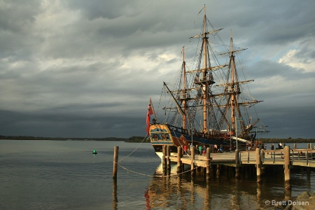 The Endeavour Replica