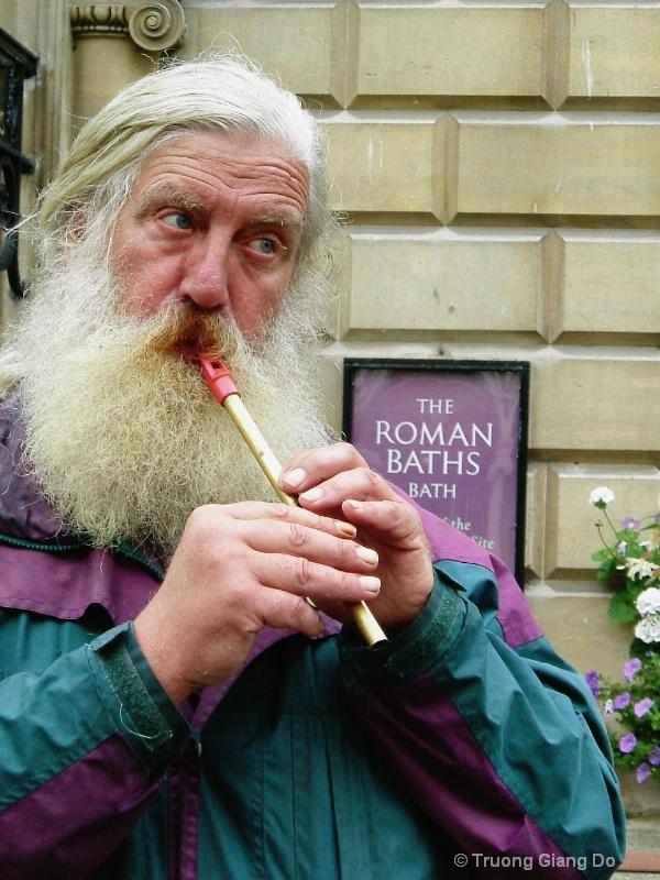 A Roman time musician