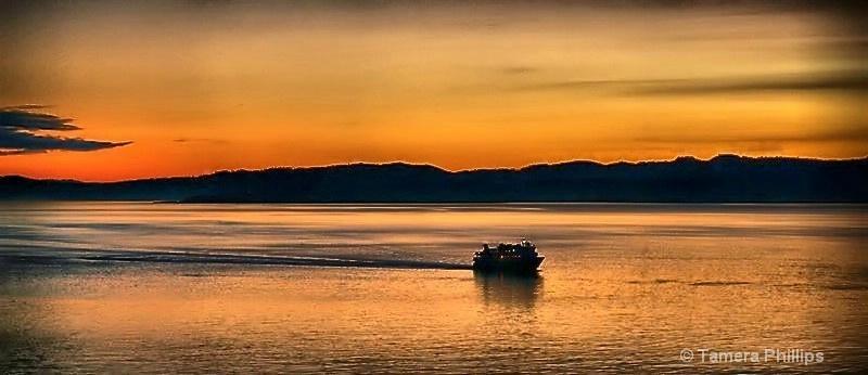 Sunset in Victoria BC