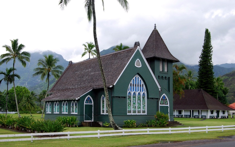 Church in Hawaii - ID: 7096705 © Clyde P. Smith