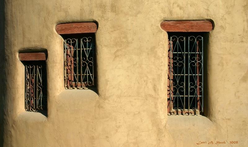 Windows in the Adobe