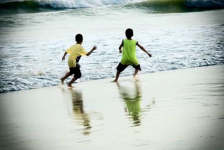 scenes at a beach #1