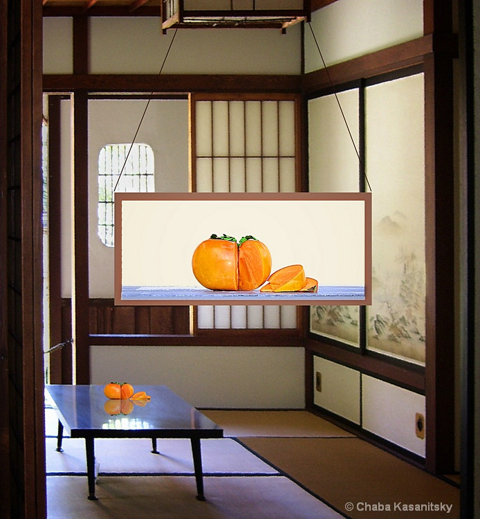 Exhibition in a Japanese Tea House