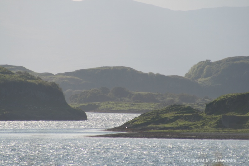Western coastline of Scotland