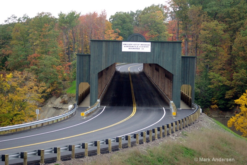 Longest Covered Bridge in America- Just completed