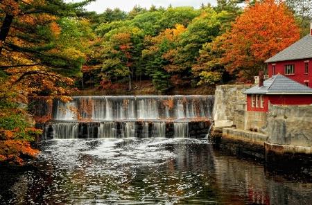 Water Falls,Maine