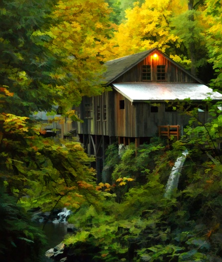 Cedar Creek Mill, est 1876
