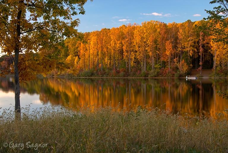 Fall at the lake.