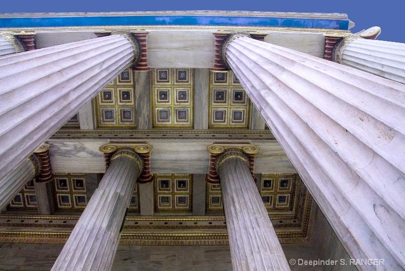 Pillars (academy-Athens)