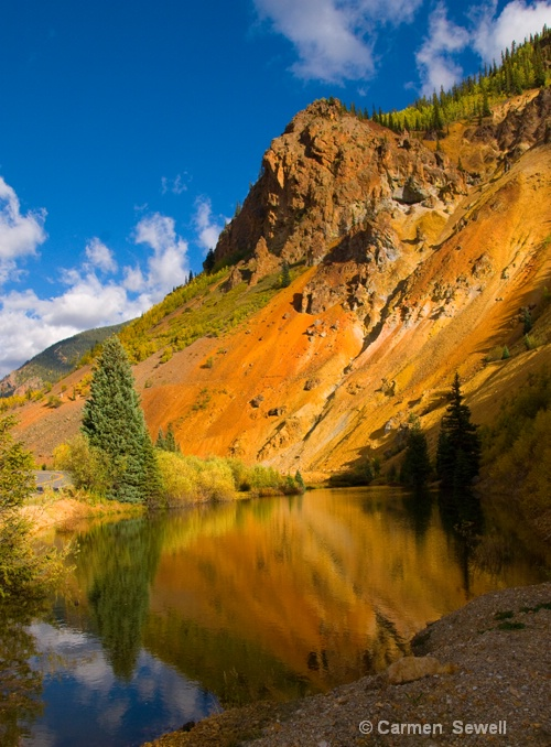 Ouray Scenic - ID: 7282628 © Carmen B. Sewell