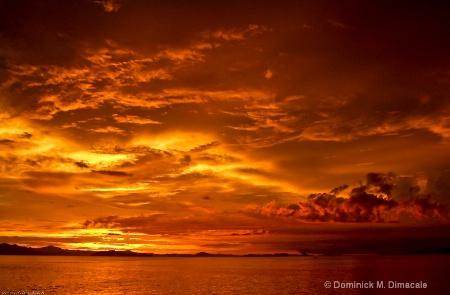 COSTA RICAN SUNSET  II