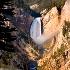 © Carmen B. Sewell PhotoID # 7316080: Lower Falls of the Yellowstone river