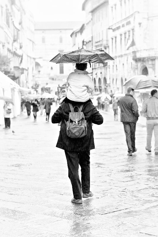 An umbrella for two - ID: 7326600 © Stefania Barbier