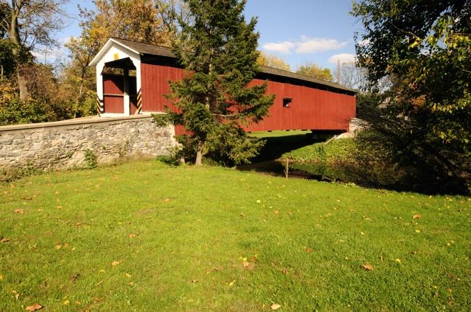 Neff Mill Covered Bridge - ID: 7340633 © GARY  L. ROHRBAUGH