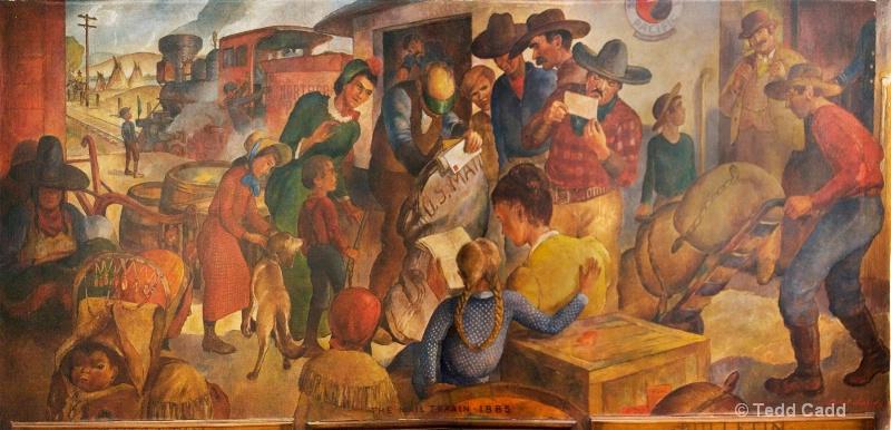 The Mail Train - 1885 - ID: 7393820 © Tedd Cadd