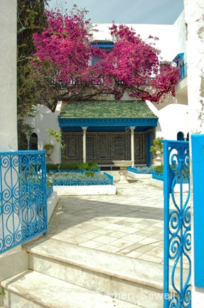 Front Entry of Tunisian House - ID: 7407522 © Carmen B. Sewell