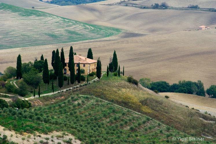 A Tuscanyan farm