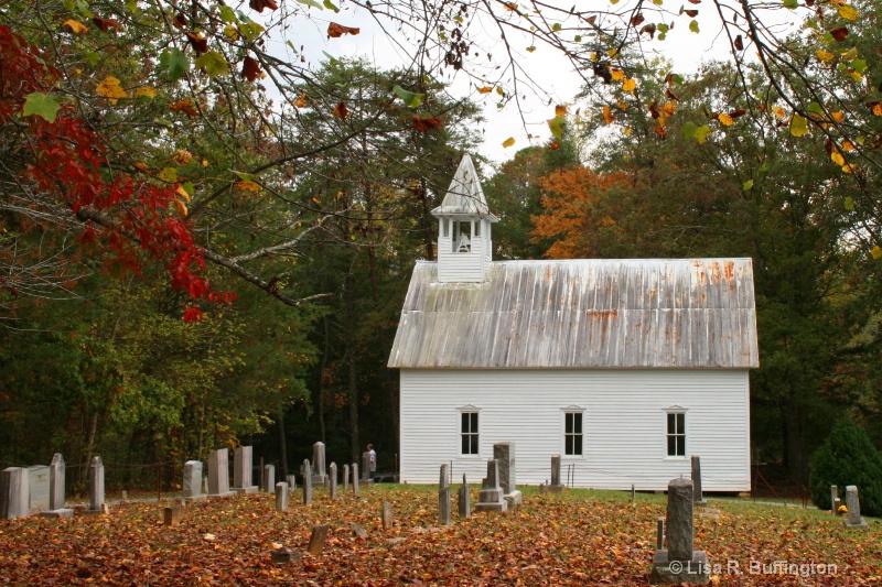 Church in Fall - ID: 7413685 © Lisa R. Buffington